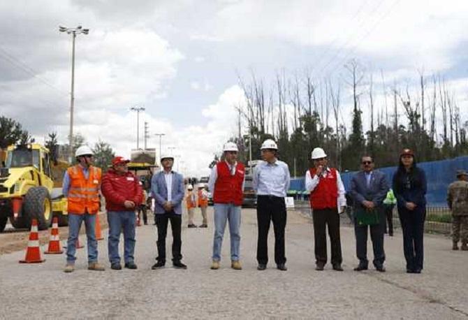 El presidente Martín Vizcarra presento los estudios de preinversión de carretera central en Junin