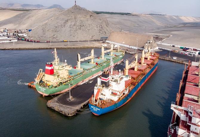 El Terminal Portuario Salaverry celebra crecimiento de 9.8%