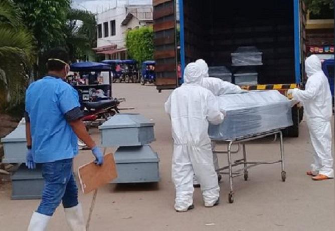 Contraloría: Es necesario acortar tiempo de recojo de cadáveres por COVID-19 para evitar contagios