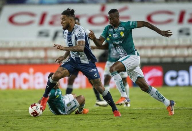 Pedro Aquino jugó en victoria de León
