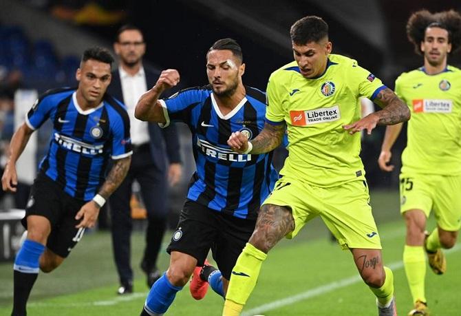 Inter de Milán eliminó a Getafe tras ganar 2-0