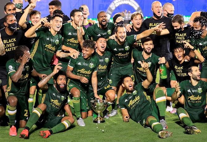 Andy Polo salió campeón con Portland Timbers en la MLS