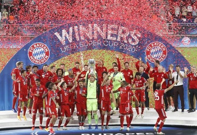 Bayern ganó 2-1 a Sevilla y levantó por segunda vez la Supercopa de Europa