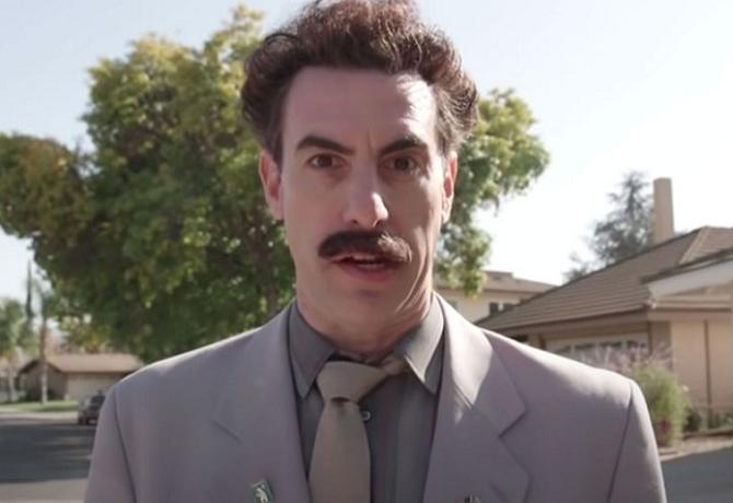 """Película """"Borat 2"""" recibe denuncia de una superviviente al Holocausto"""