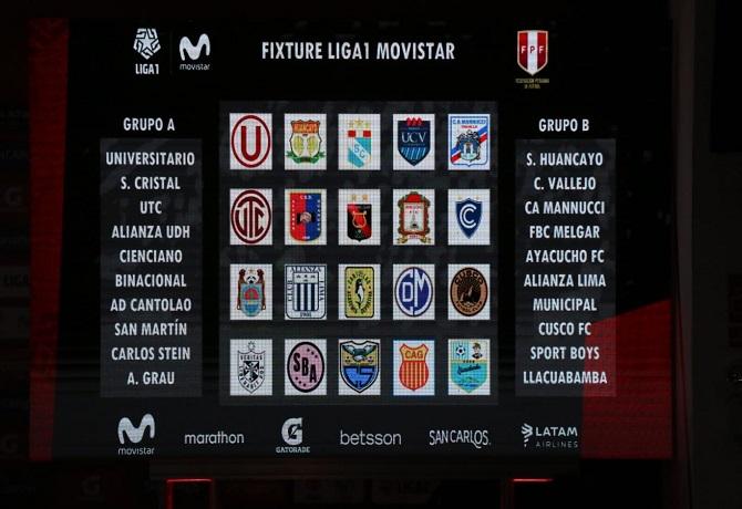 Torneo Clausura ya tiene definidos los grupos y el fixture