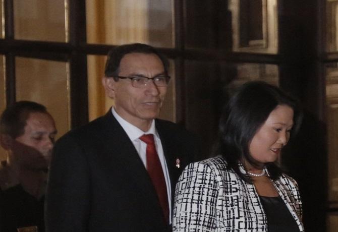 Presidente Martín Vizcarra aseguró que Keiko Fujimori le ofreció ser parte de Fuerza Popular en 2015