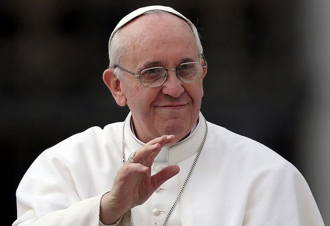 Papa Francisco apoya leyes de unión civil homosexual