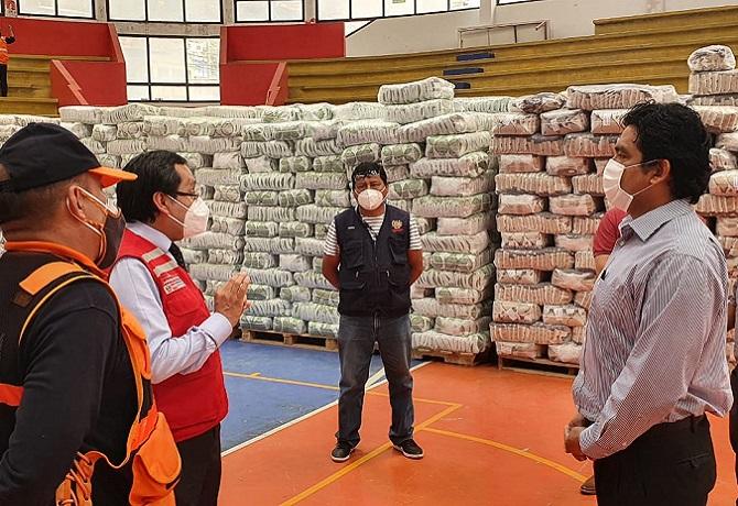 Lurigancho Chosica: cerca de 90 toneladas de productos entregados por Midis Qali Warma
