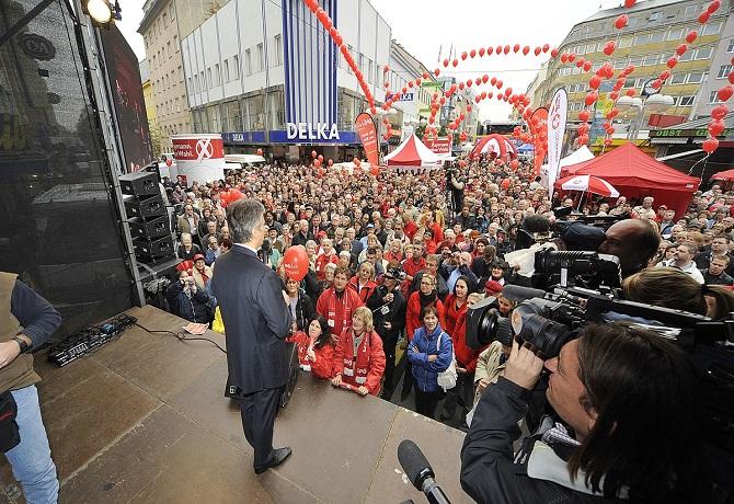 Socialdemócratas ganaron elecciones de Viena por octava vez consecutiva