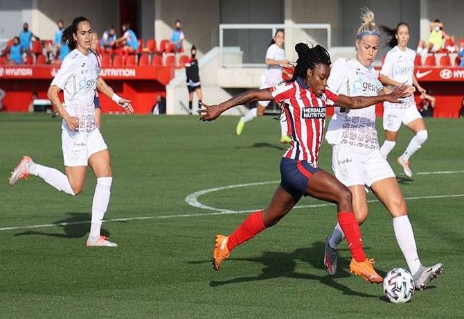 Primera Iberdrola: Atlético de Madrid sigue arriba tras vencer 2-0 a Logroño