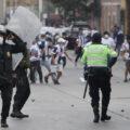 Hinchas de Alianza Lima generan disturbios cerca del Estadio Nacional