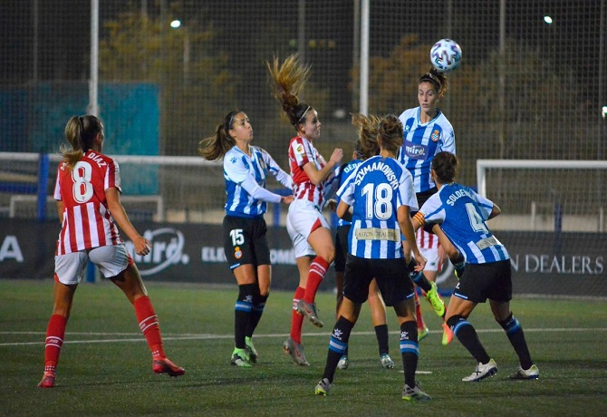 Primera Iberdrola: Espanyol se impuso a Athletic por 2-1 y volvió a ganar luego de cuatro fechas