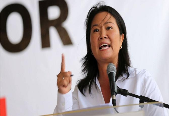 """Keiko Fujimori: """"Su intención es que quedemos fuera de la contienda electoral"""""""
