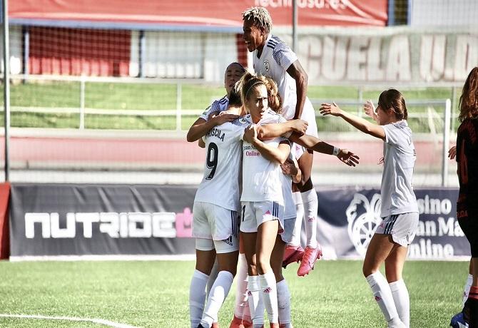 Primera Iberdrola: Con gol de Priscila Borja, Madrid CFF se impuso 1-0 a Real Sociedad