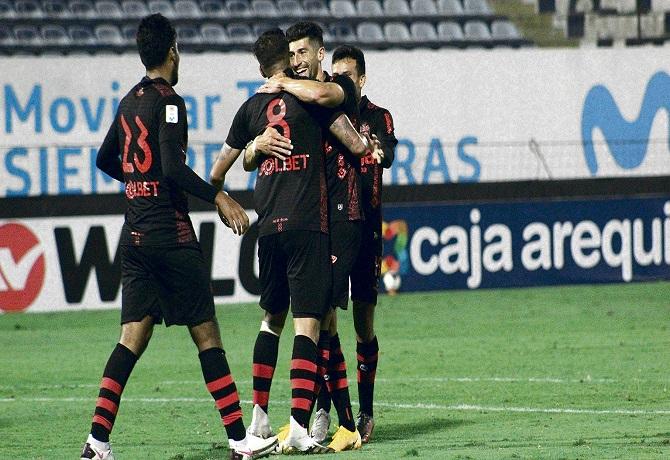 En Matute, Melgar goleó a Sport Huancayo por 4-0 y se acerca a la Copa Sudamericana