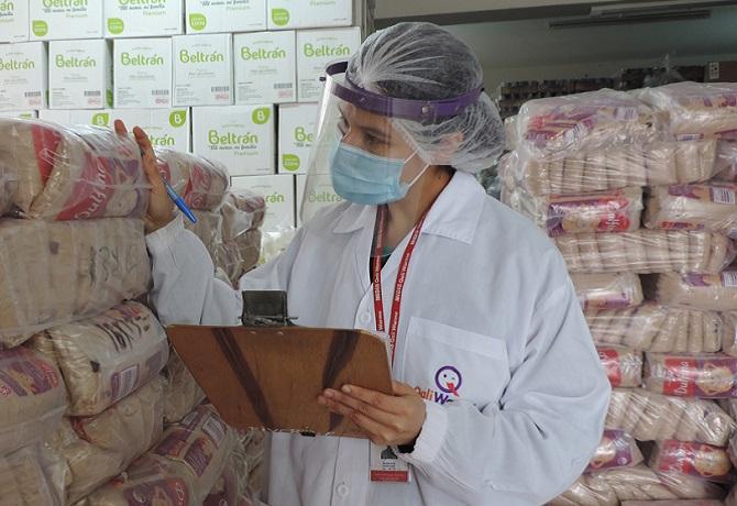 Municipalidades de Lurigancho Chosica, Cieneguilla, Villa María del Triunfo y Punta Hermosa reciben 447.8 toneladas de alimentos de Midis Qali Warma