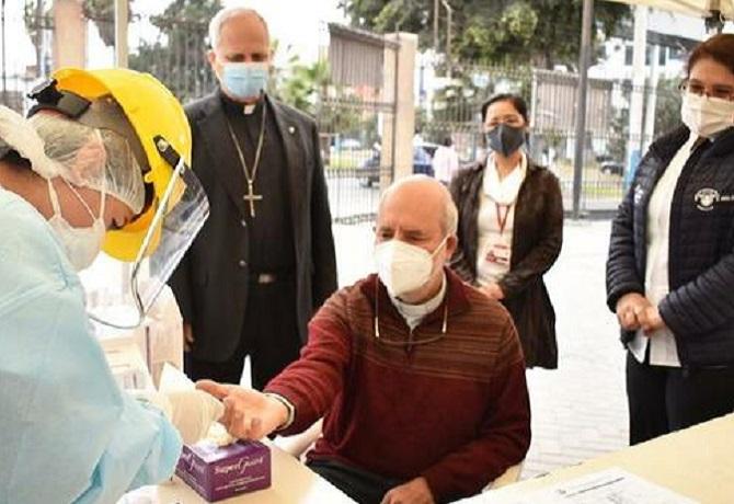 Se realizan pruebas de descarte a sacerdotes del Callao en campaña de detección oportuna de coronavirus