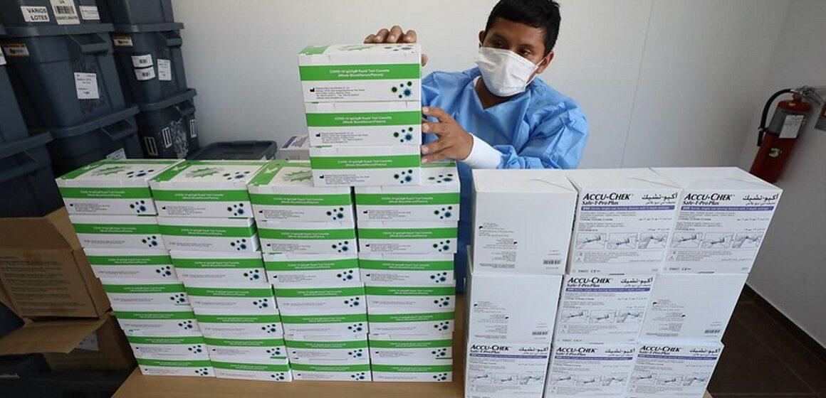 Contraloría identificó inadecuado almacenamiento de pruebas rápidas COVID-19 en Diresa Ayacucho