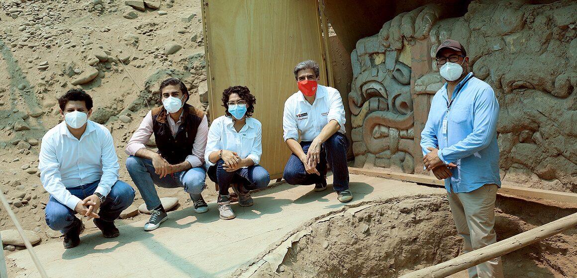 Ministro de Cultura visitó el proyecto Arqueológico Garagay