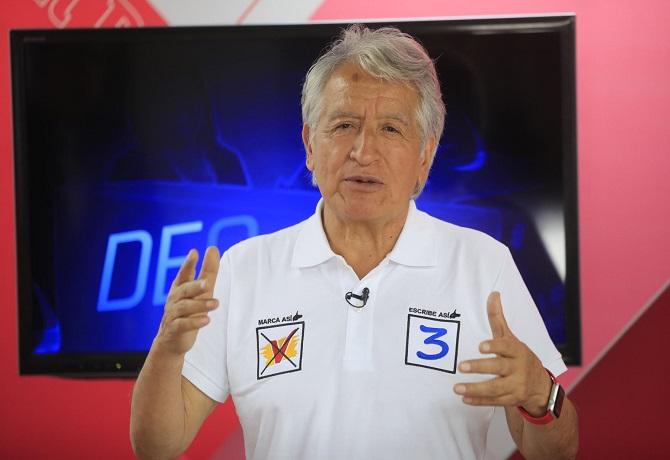 Virgilio Acuña y Vamos Perú quedaron fuera de la carrera presidencial