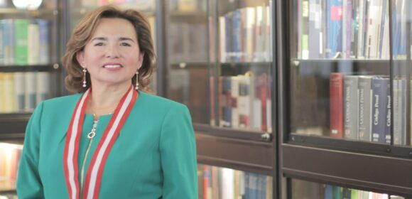 Elvia Barrios Alvarado fue elegida nueva presidenta del Poder Judicial