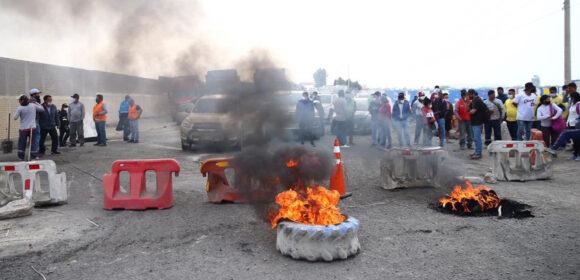 Muere uno de los manifestantes durante el paro agrario