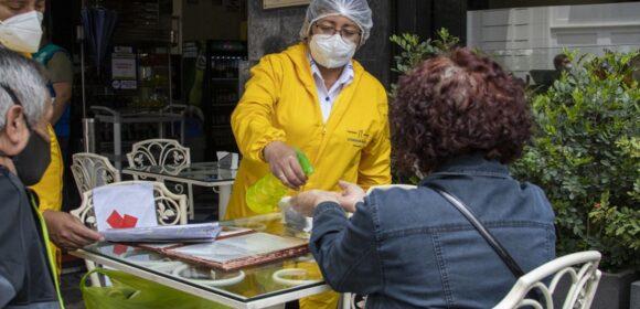 Se aprobó usar temporal de vías públicas para restaurantes y cafés en el Cercado