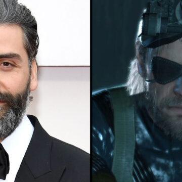 Oscar Isaac interpretará a Solid Snake en película Metal Gear Solid