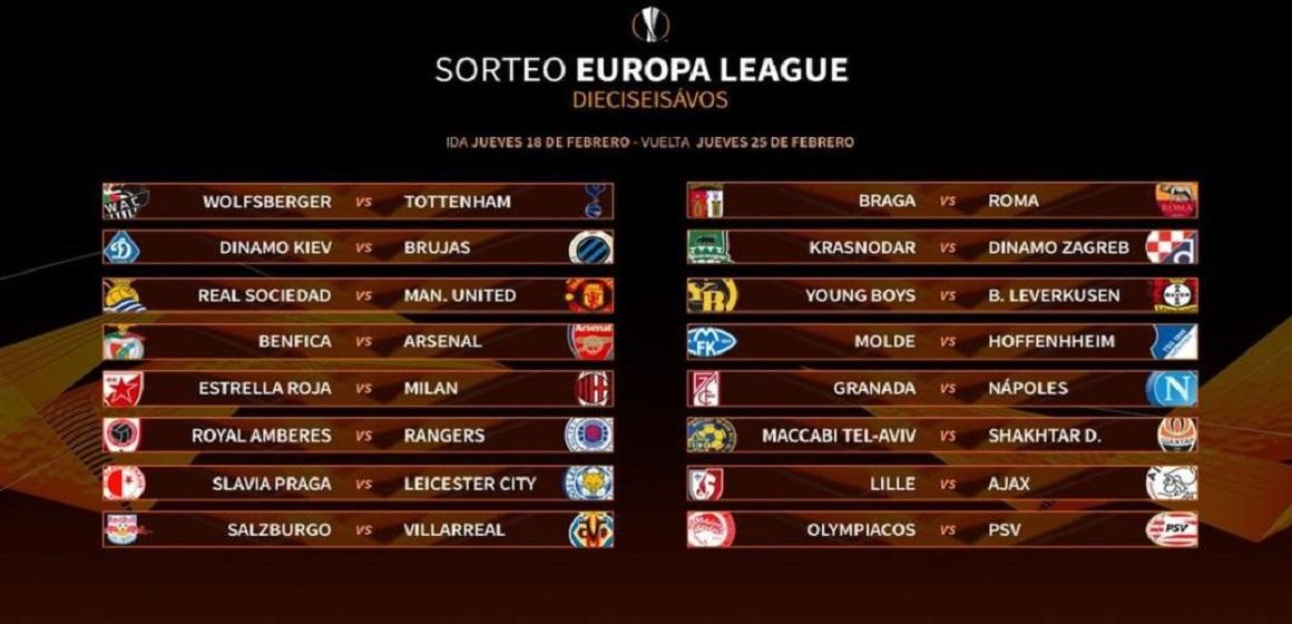 Europa League 2020-2021 ya tiene llaves de dieciseisavos ...