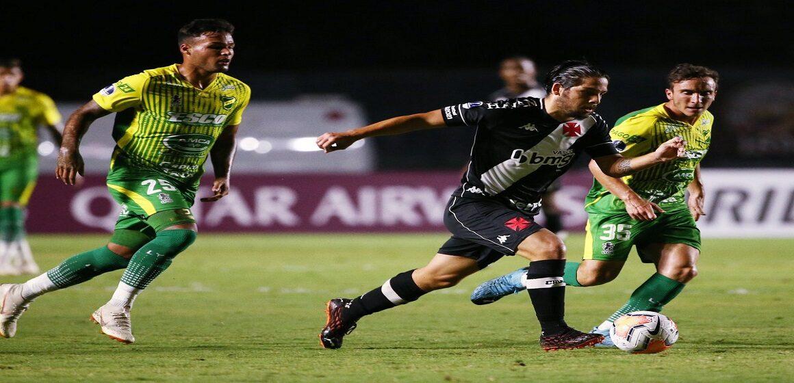 Defensa y Justicia venció 0-1 a Vasco da Gama en Rio de Janeiro y avanzó a cuartos