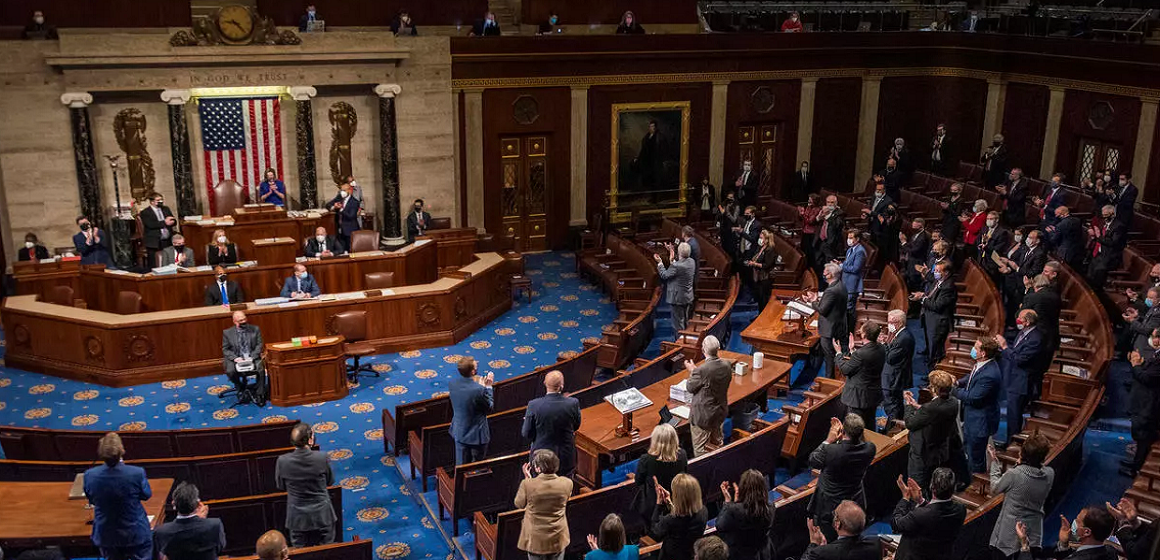 Congreso de Estados Unidos ratificó la victoria electoral de Joe Biden