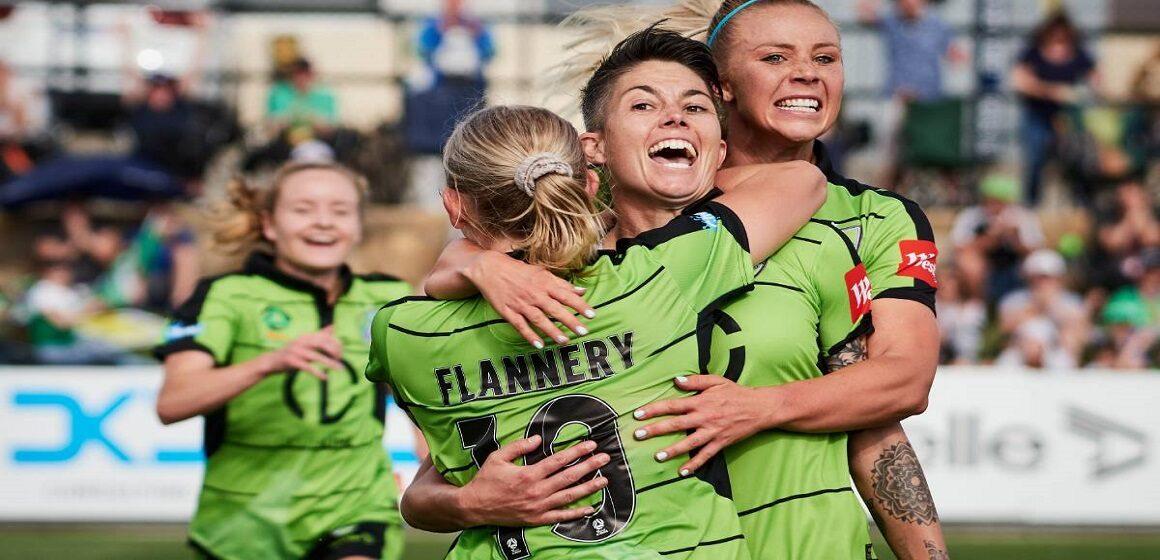 W-League: Canberra venció a Melbourne City por 2-1 con gol agónico de Nikki Flannery