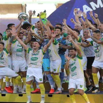 Defensa y Justicia se coronó campeón de la Copa Sudamericana al golear a Lanús