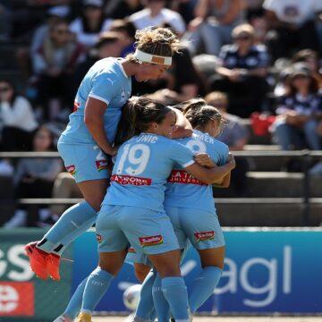 W-League: Melbourne City se quedó con el derbi al imponerse por 2-3 ante Melbourne Victory