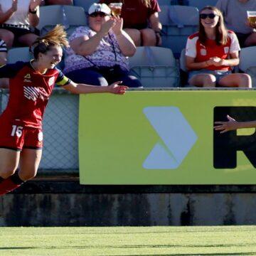 W-League: Adelaide United superó a Melbourne City por 3-1 y sigue muy arriba