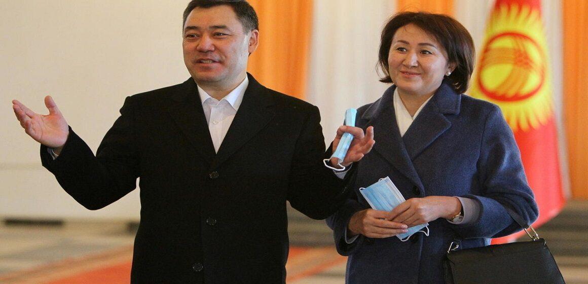 Sadyr Japarov fue elegido nuevo presidente de Kirguistán