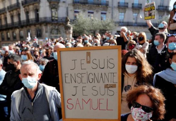 Detienen en Francia a otras 7 personas por presunta implicación en asesinato de Samuel Paty