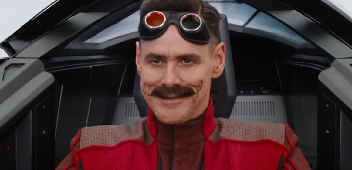 Jim Carrey fue premiado como Mejor Villano por su papel de Robotnik en la película de Sonic