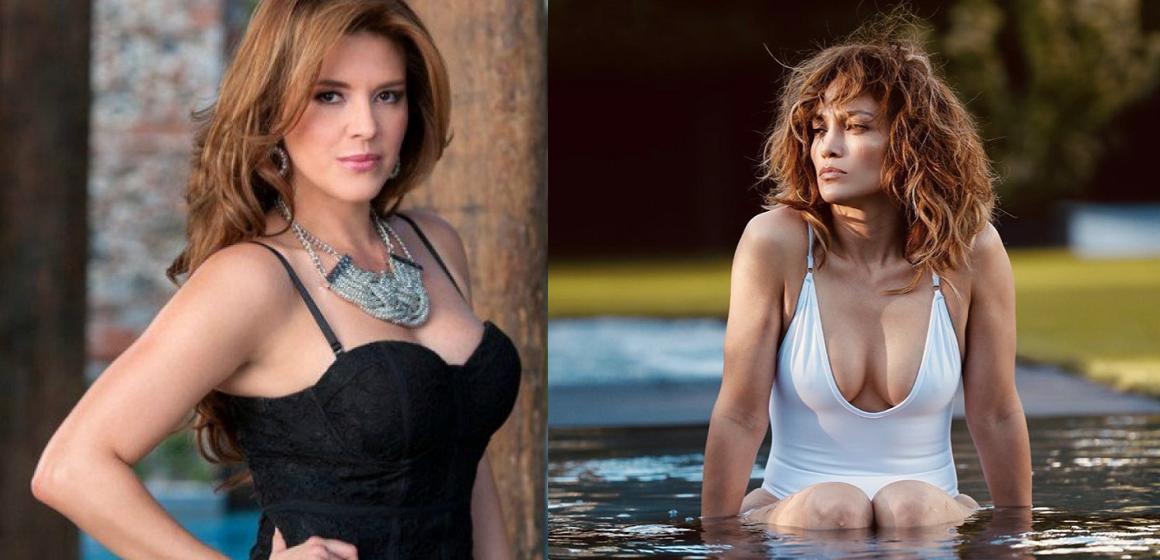 Alicia Machado critica el look de Jennifer López en las redes sociales