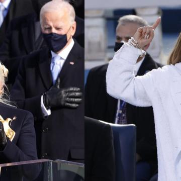 Lady Gaga y Jennifer López se hacen presente en la investidura de Joe Biden