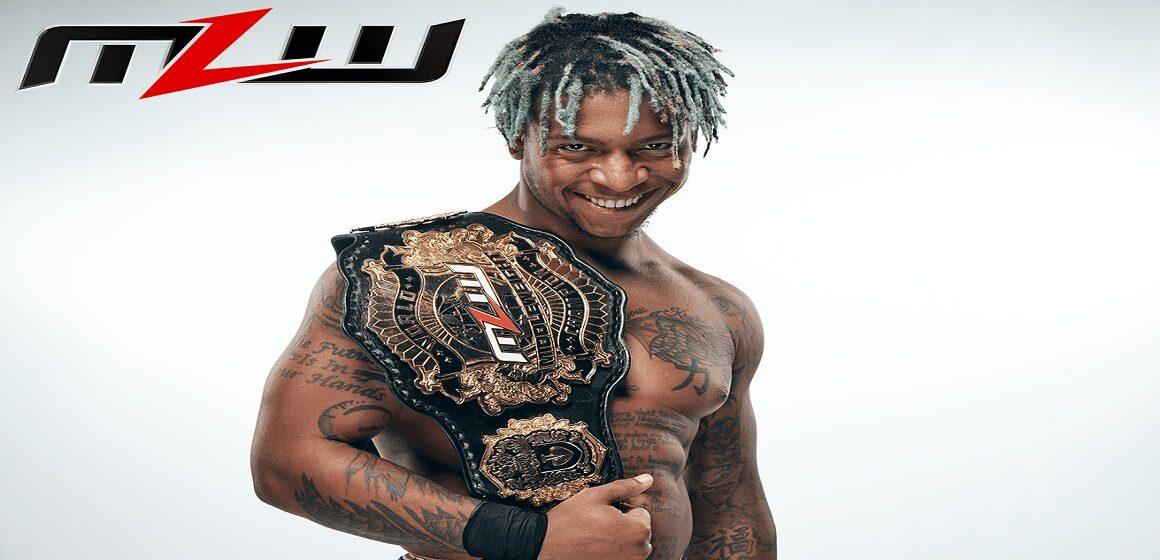 Lio Rush se coronó nuevo Campeón Mundial Peso Medio de MLW