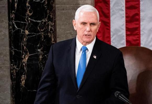 Mike Pence rechaza invocar la 25ª Enmienda para destituir a Trump