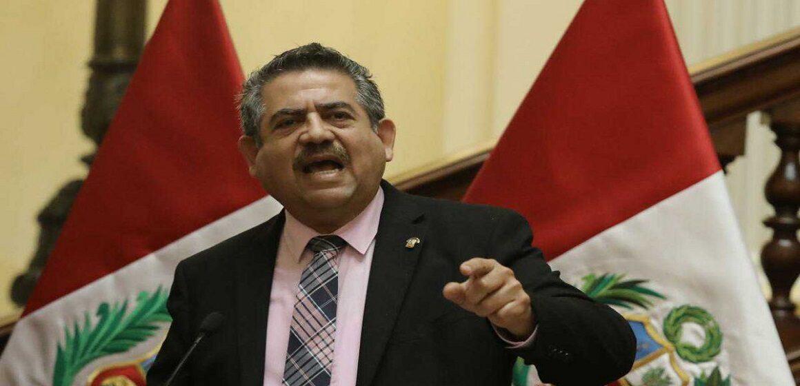 Manuel Merino rechazó informe de la ONU utilizando un argumento xenófobo