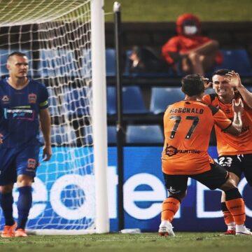 A-League: Brisbane Roar consiguió segunda victoria al hilo tras vencer a Newcastle Jets por 1-2