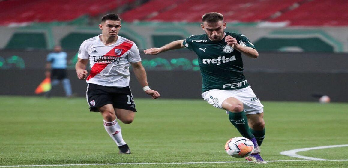 Palmeiras cayó 0-2 ante River pero avanzó a la final de la Copa Libertadores
