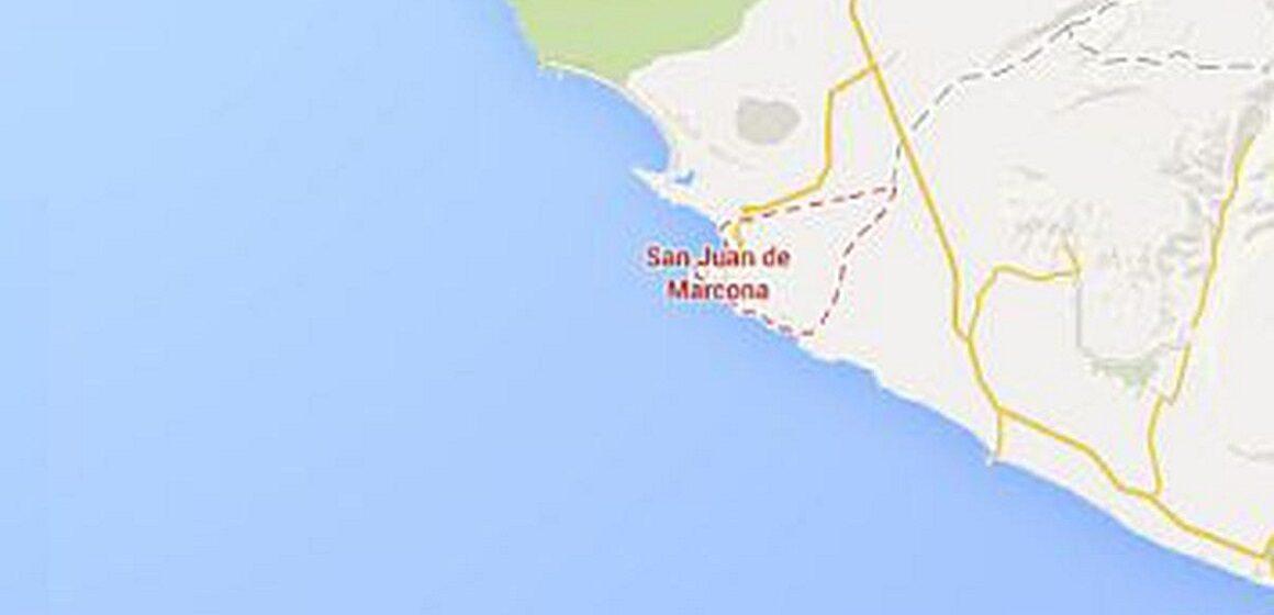 IGP reporto cuatro sismos de regular intensidad en la ciudad de Marcona, Ica