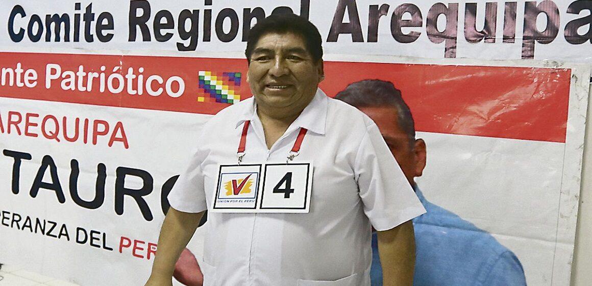 Congresista etnocacerista Hipólito Chaiña falleció a los 67 años de edad por Covid-19