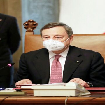 Mario Draghi se convirtió en el nuevo primer ministro de Italia