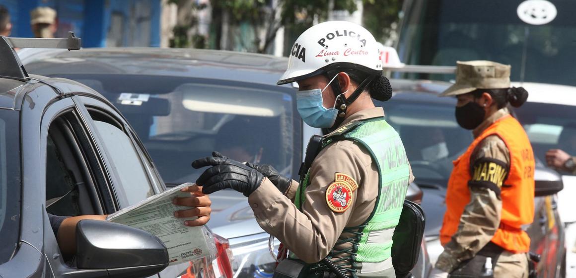 Más de 3.500 papeletas impuestas a transportistas por no cumplir medidas sanitarias
