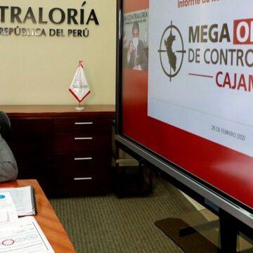 Contraloría identificó más de S/ 40 millones de perjuicio en Mega Operativo de Control en Cajamarca